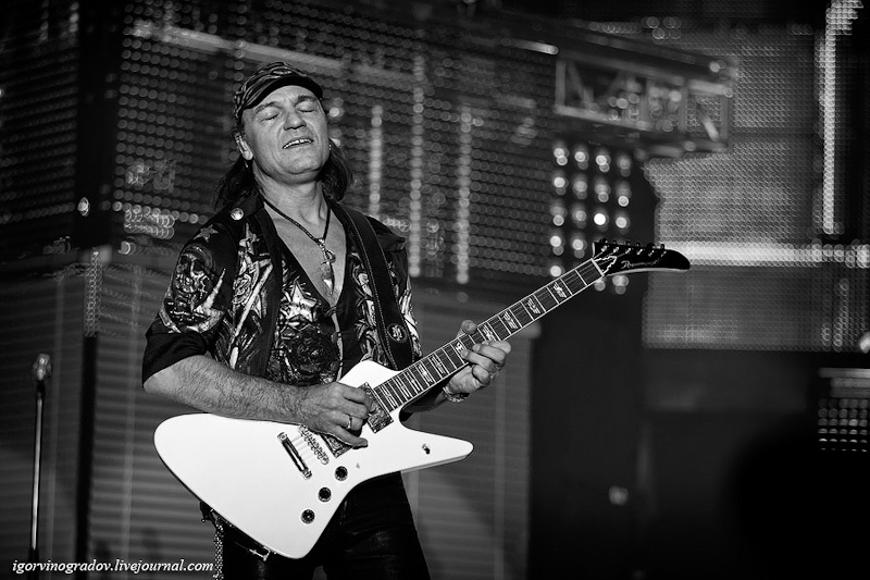 Scorpions live in Dnepropetrovsk