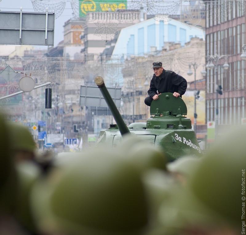 Парад 69 годовщина освобождения Киева