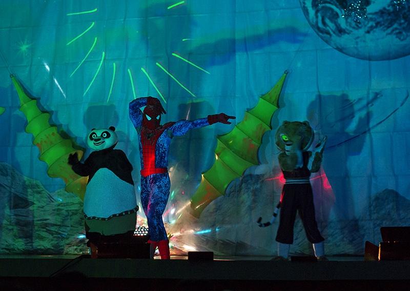 Приключения панды и его друзей на планете мыльных пузырей