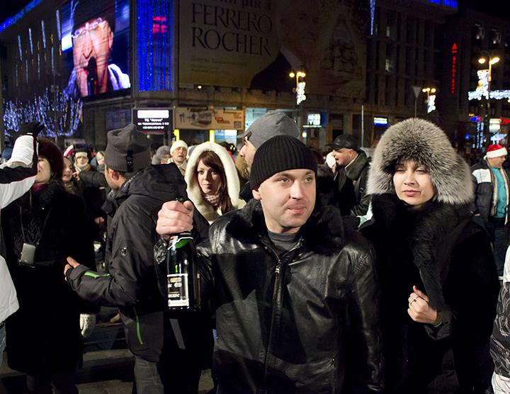 Новый Год-2013. Майдан. ДДТ