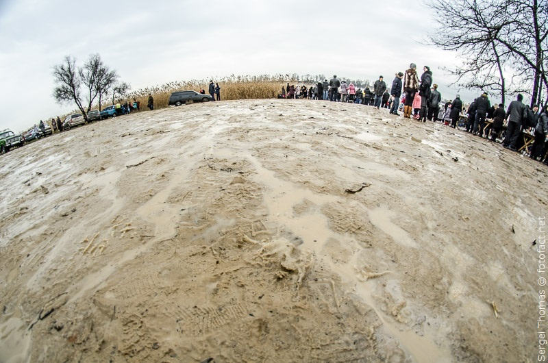 Крещенские купания в проруби Димитрово Синянка