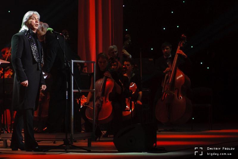 Дмитрий Хворостовский. Юбилейный концерт в Киеве