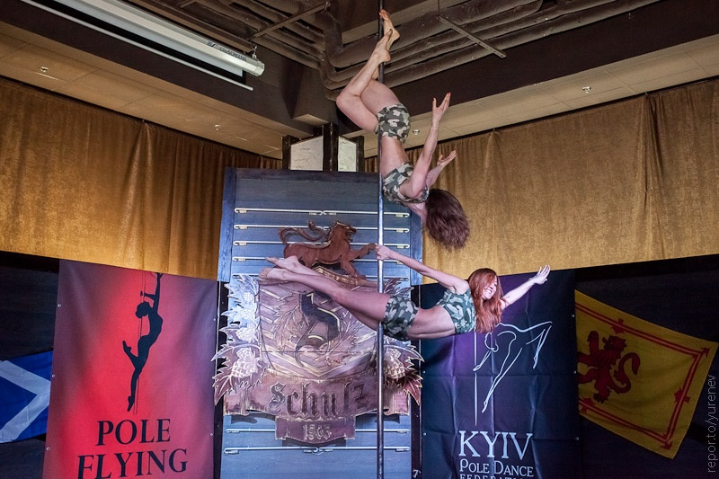 Pole-dance spring show