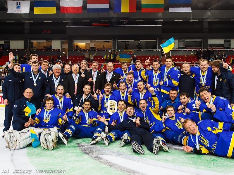 Сборная Украины на ЧМ по хоккею-2013