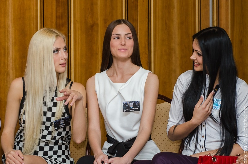 Пресс-конференция Мисс Донбасс Open 2013