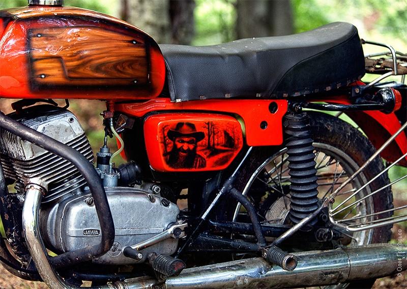 мотоцикл Пензела