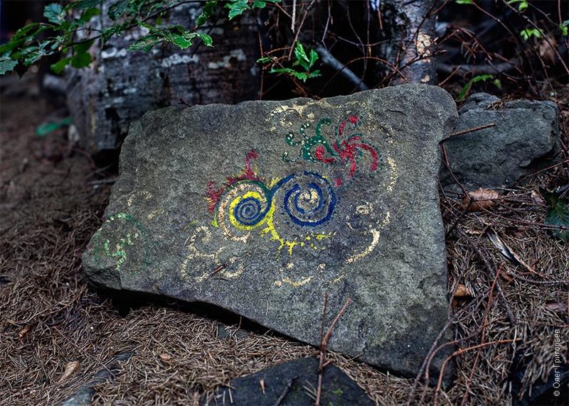 тайный камень хиппи