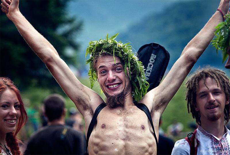 фестиваль хиппи фото