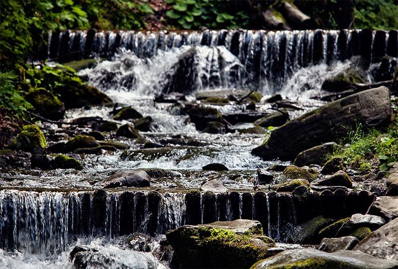 каскады на водопаде Шипот