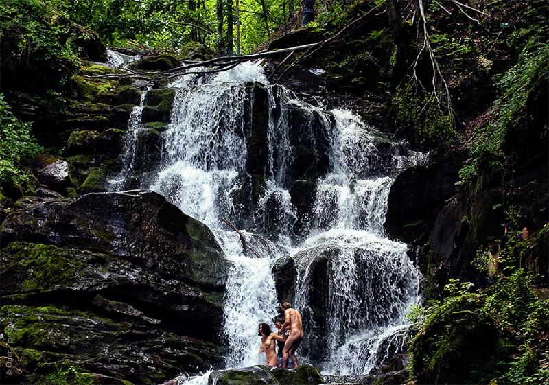 фото водопад шипот