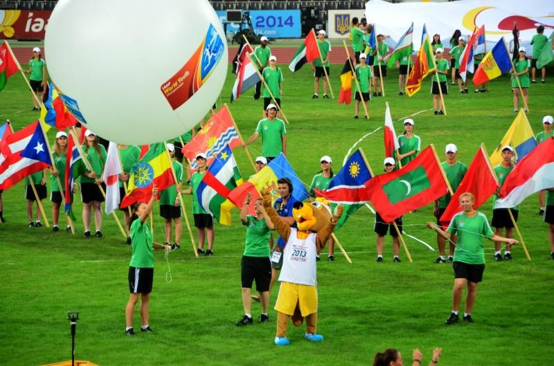 закрытие Чемпионата Мира Донецк
