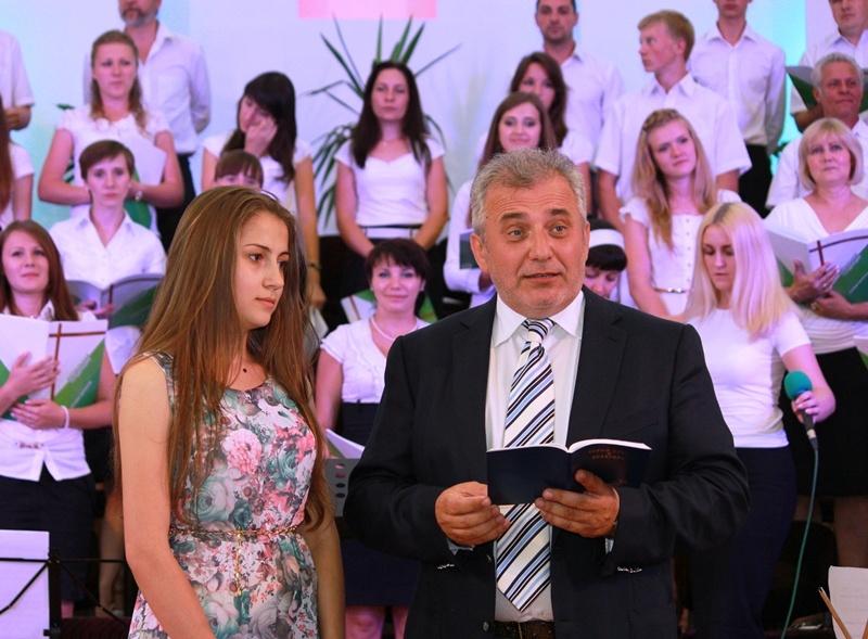 джазово-хоровой вечер в Библейской Церкви Украины