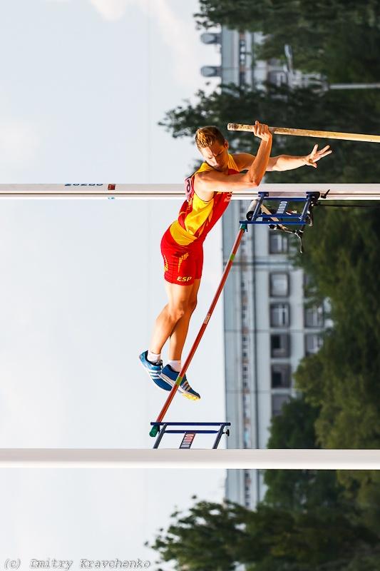 Юношеский чемпионат мира по легкой атлетике Донецк прыжки