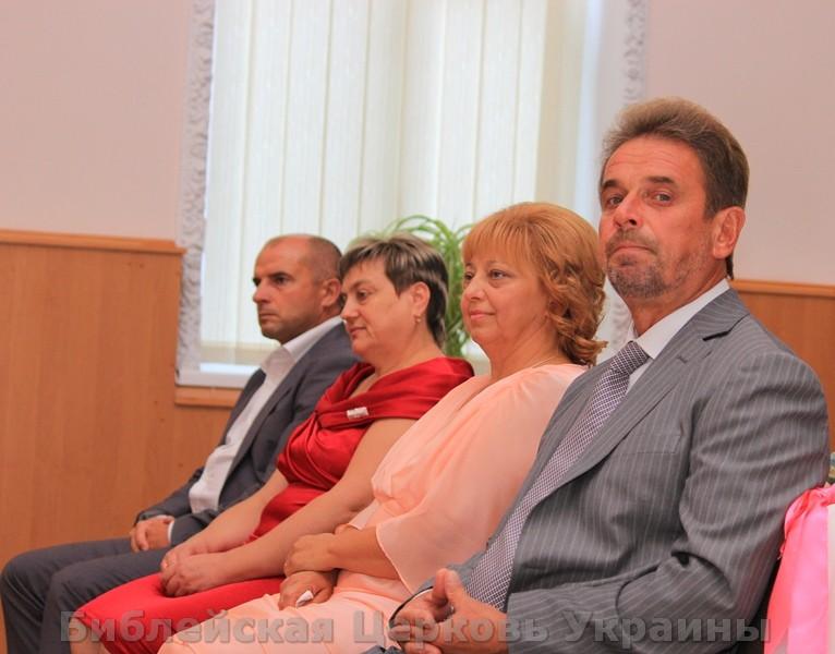 венчание в Церкви Евангельских Христиан Баптистов