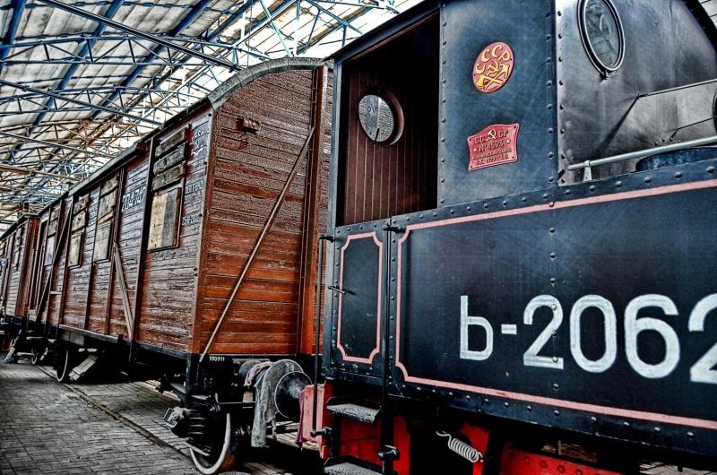 Музей железной дороги в Донецке