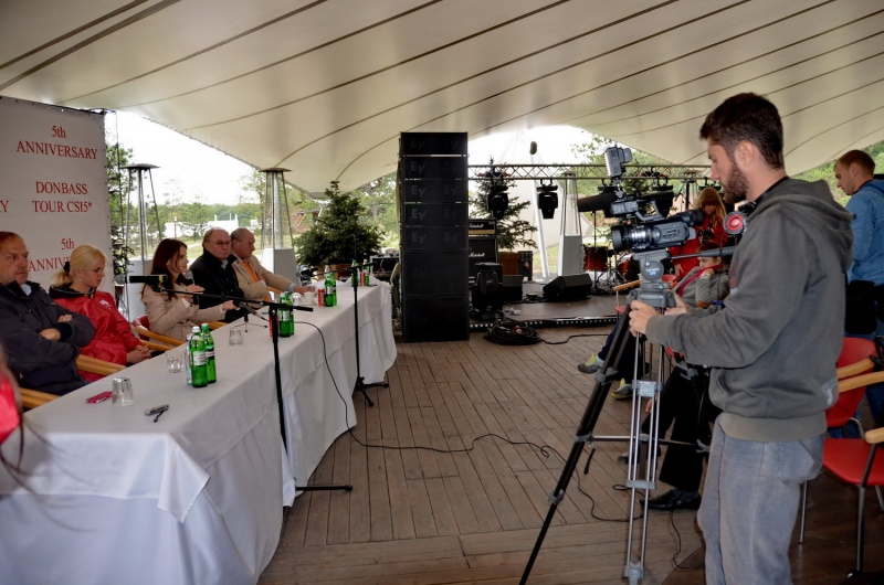 пресс-конференция Донбасс-Тур 2013