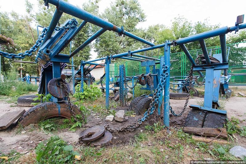 тренажеры в гидропарке