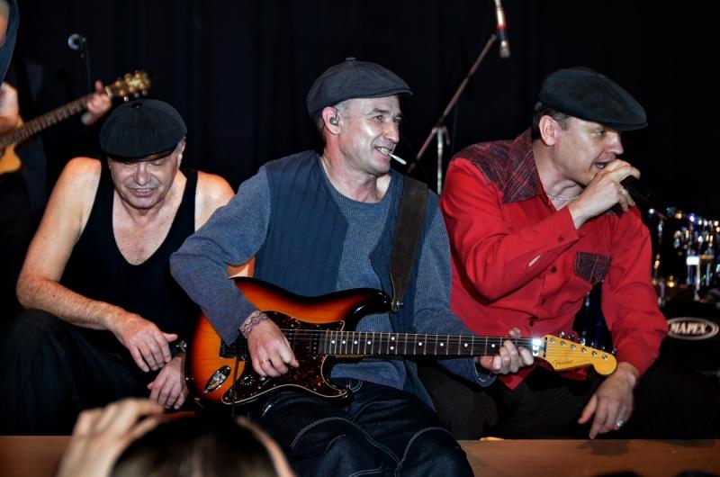 Юбилейный концерт группы Лесоповал