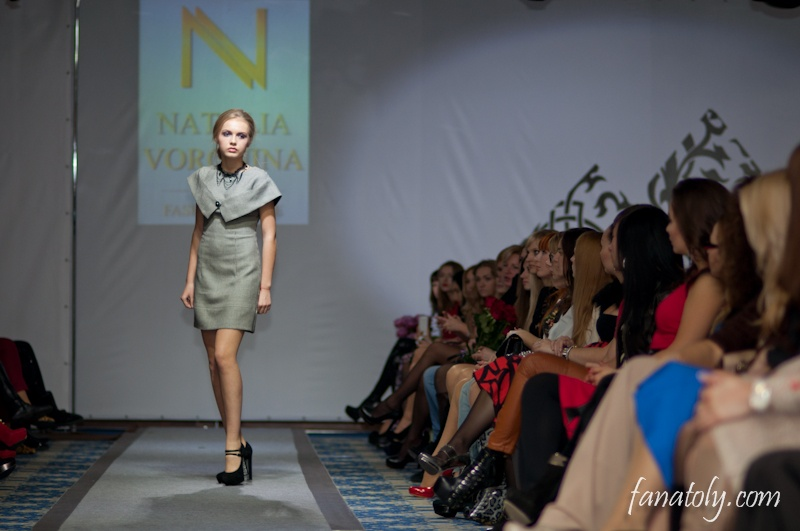 Показ Натальи Ворониной
