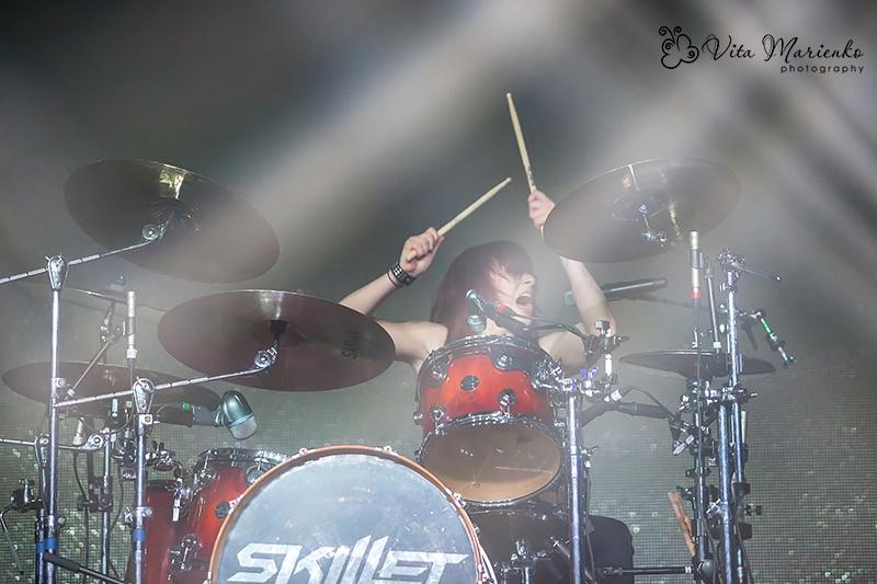 Skillet в клубе Стерео Плаза