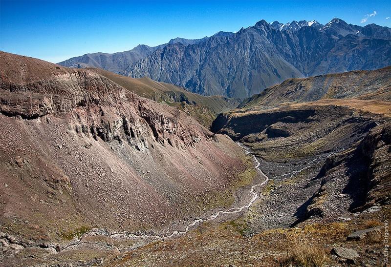 Восхождение на вершину Казбек