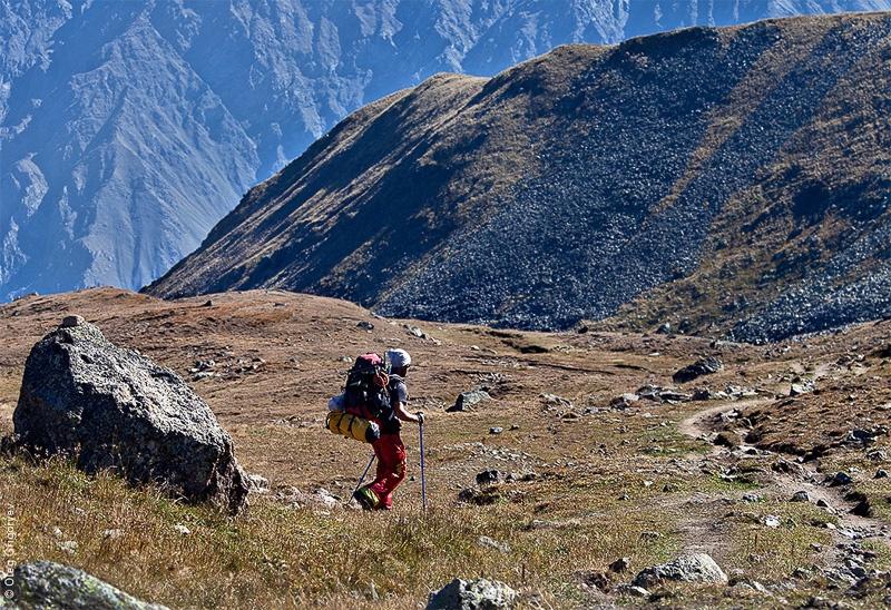 подъем на гору Казбек