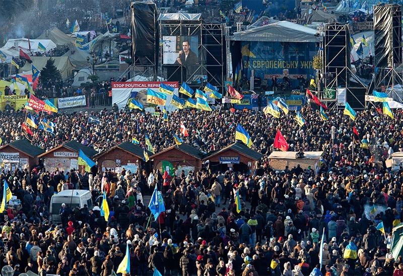 митинг на майдане 2013