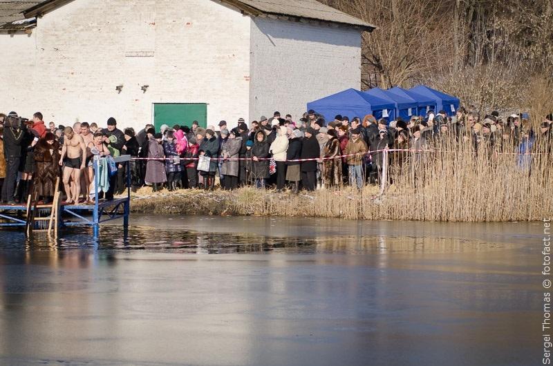 Крещенские купания Красноармейск