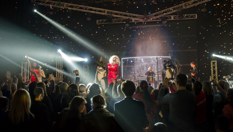 Светлана Loboda в Донецке – 2014 «Под запретом»