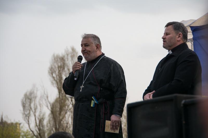 Донецк Молитва за Украину