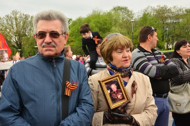 День Победы 2014 Донецк