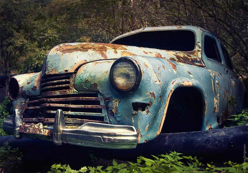 фотографии старых авто