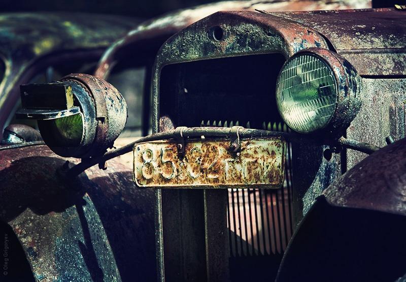 фото ретро авто