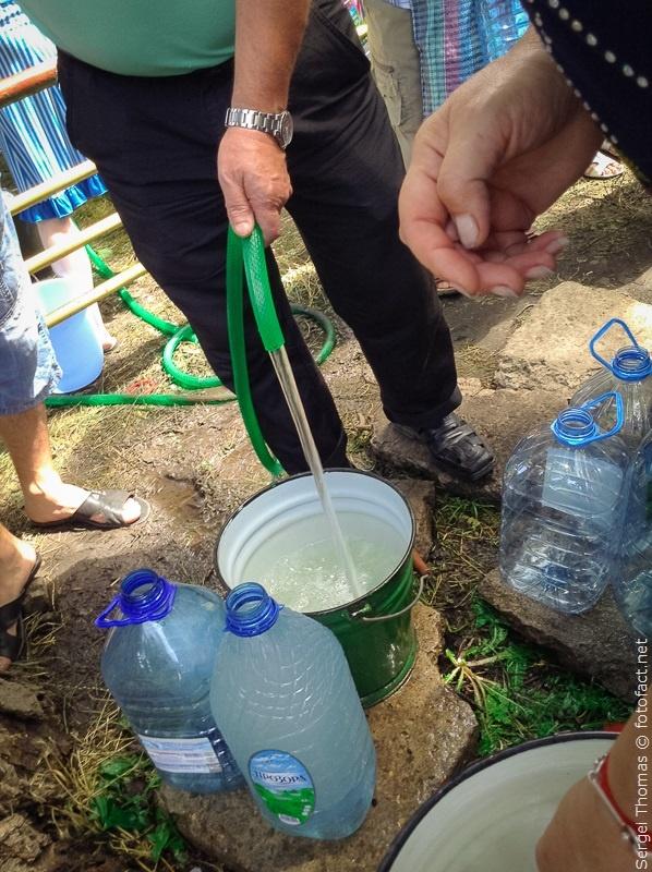 Красноармейск без воды