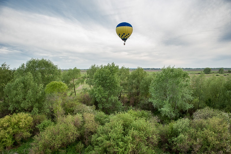 полет над окраинами Перяслав-Хмельницкого