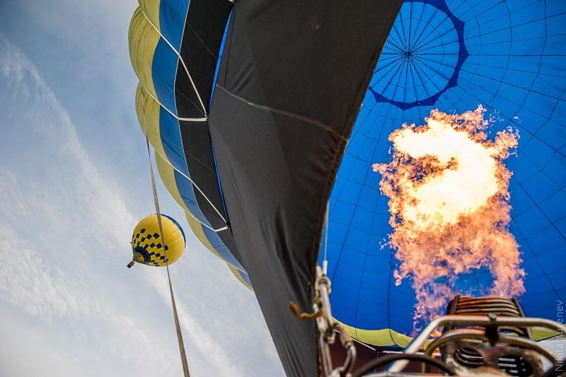 воздушные шары огонь