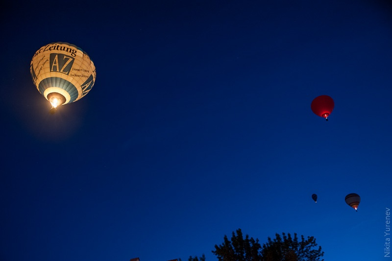 Фестиваль воздушных шаров в Каменце-Подольском