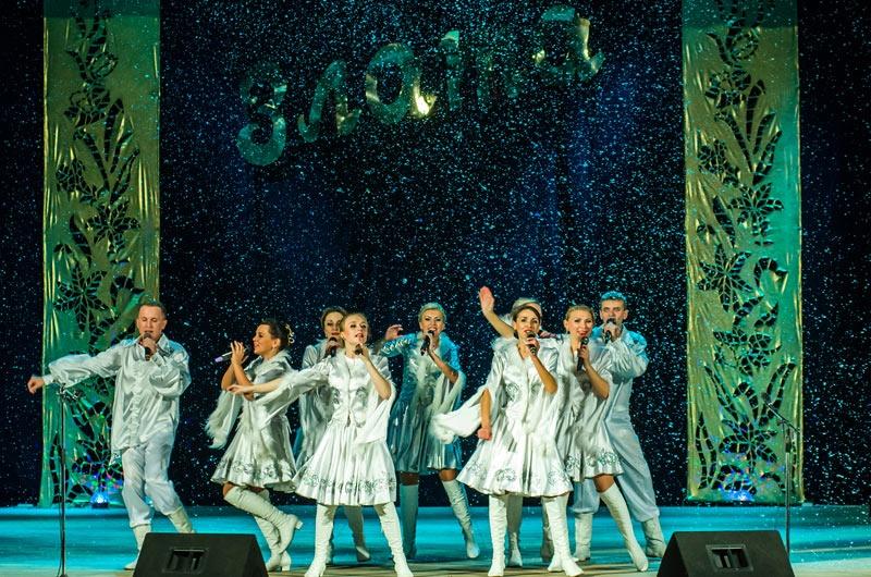 Отчетный концерт Театра народной песни Злата