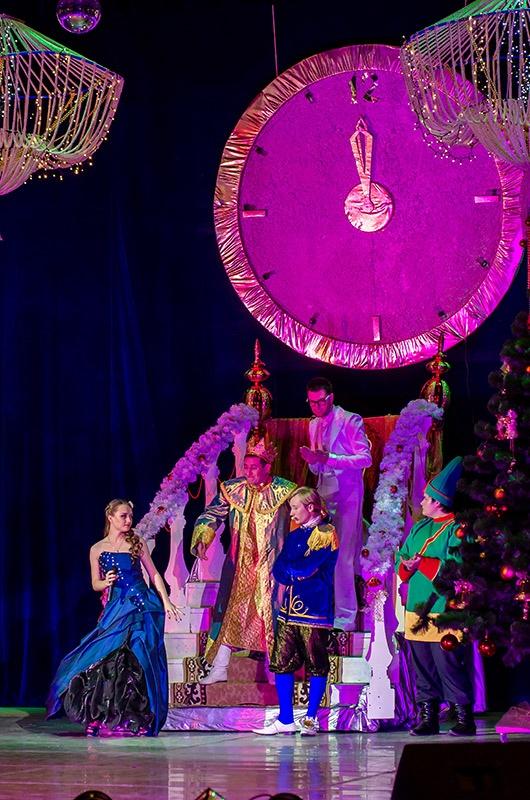 Рождественская сказка Хрустальная история