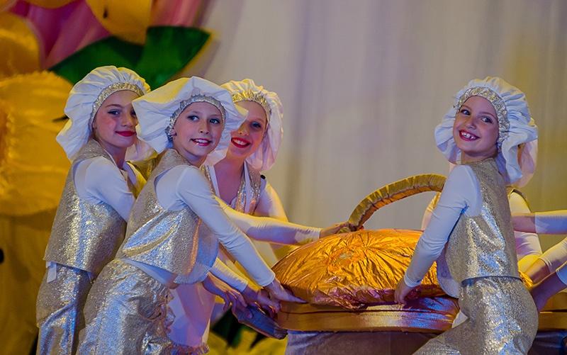 Отчетный концерт Образцового хореографического ансамбля Отрадушка