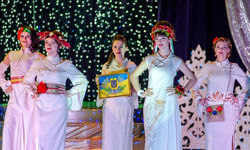 Снежная Королева, конкурс красоты в г. Красноармейске