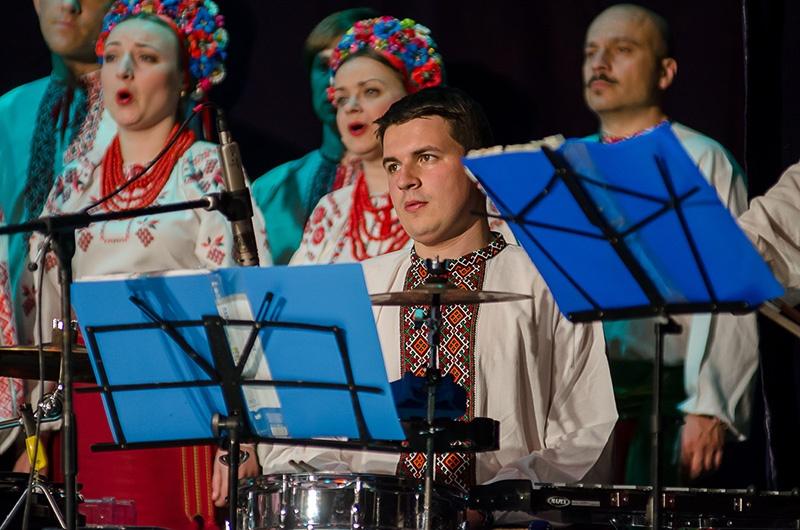 Хор Григория Веревки в Красноармейске