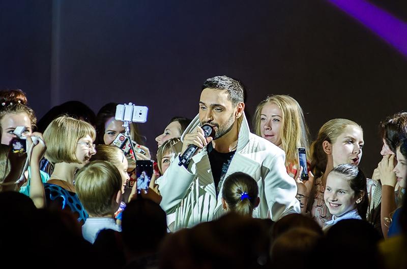 Концерт Виталия Козловского в Покровске